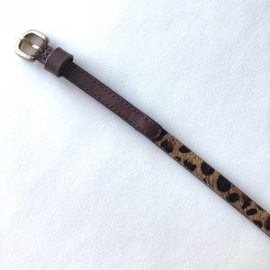 Madewell printed belt